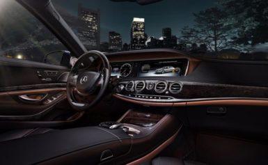 Vẻ đẹp sang trọng trong thiết kế của dòng xe Mercedes Benz