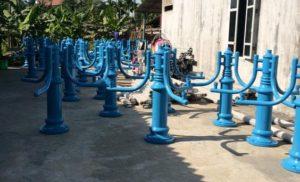Hình ảnh thực từ xưởng sản xuất cột đèn trang trí sân vườn lớn nhất nhì Miền Bắc