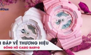 Hỏi đáp về thương hiệu đồng hồ Baby-G