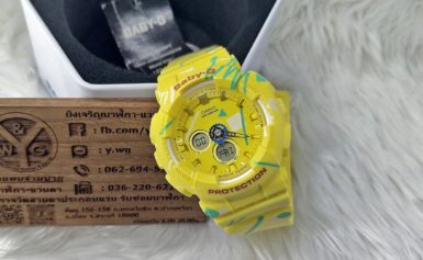 Điểm qua 4 mẫu đồng hồ Casio Baby G với sắc vàng rực rỡ và nổi bật