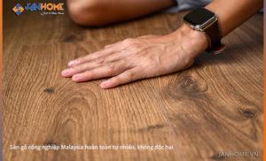 Những lợi ích sức khoẻ mà sàn gỗ Malaysia mang đến cho người tiêu dùng Việt Nam